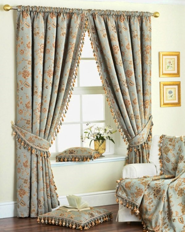 Trendy curtains